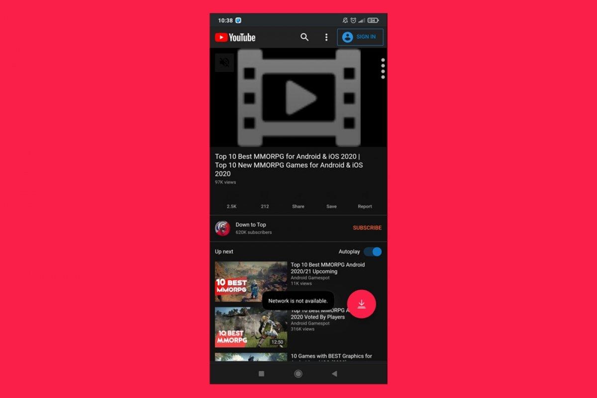 Por qué TubeMate YouTube Downloader no me deja descargar vídeos