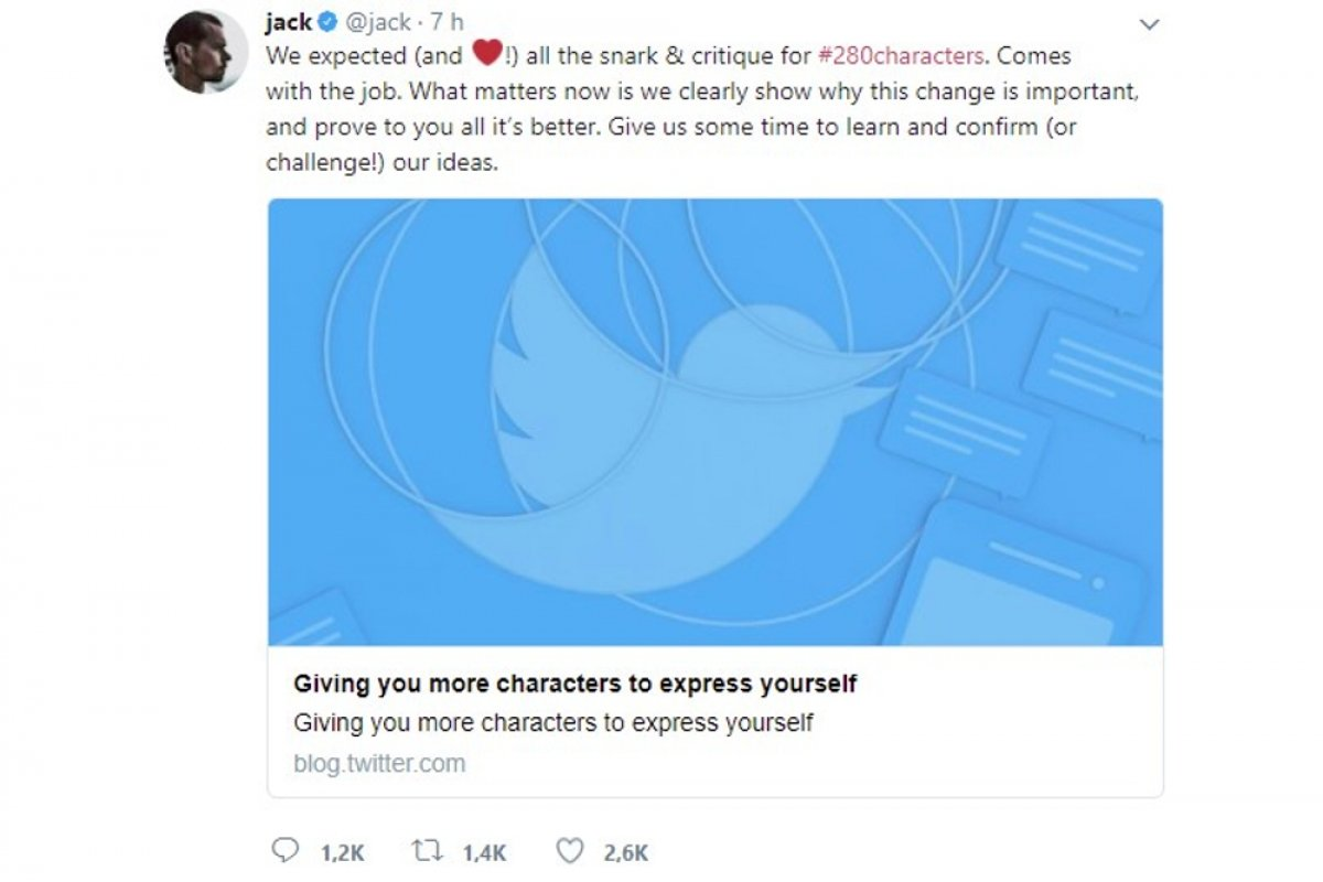 How to write 280-character tweets