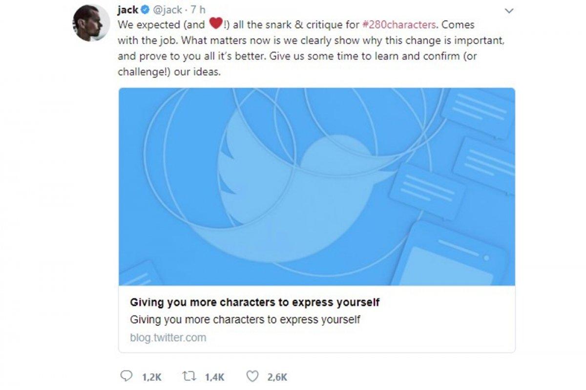 Cómo escribir tuits de 280 caracteres