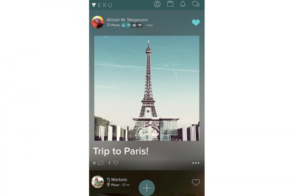 What is the Vero social network and what's it for?