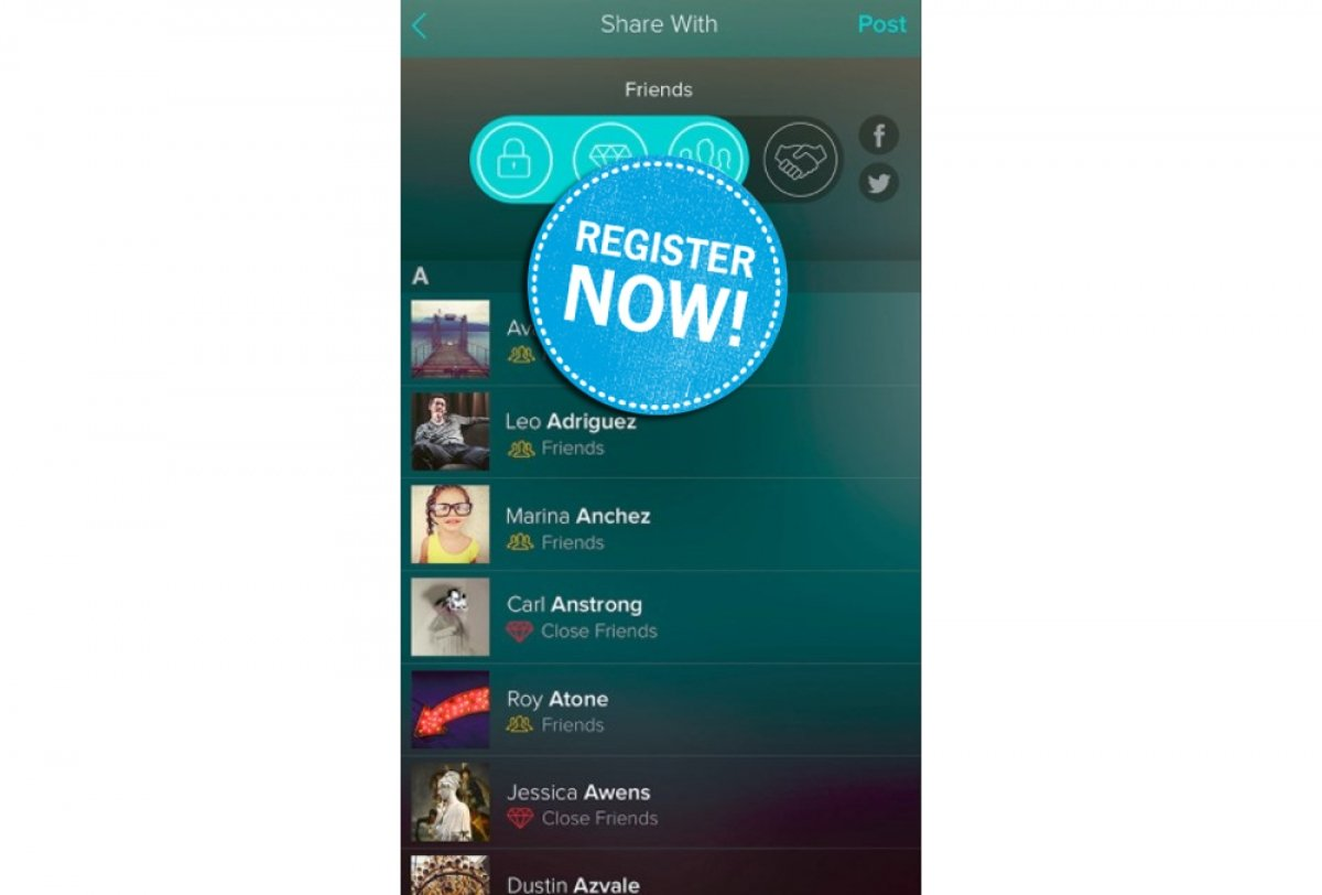 How to sign up for Vero