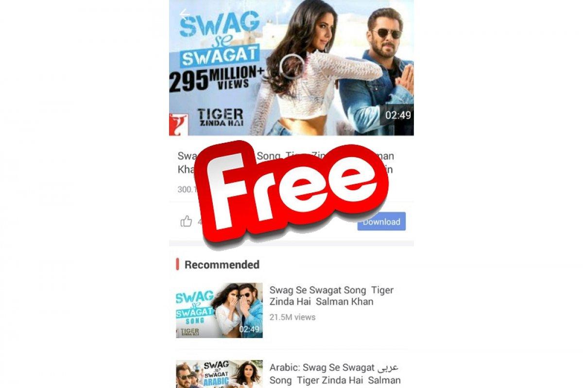 Est-ce que Vidmate est gratuit?