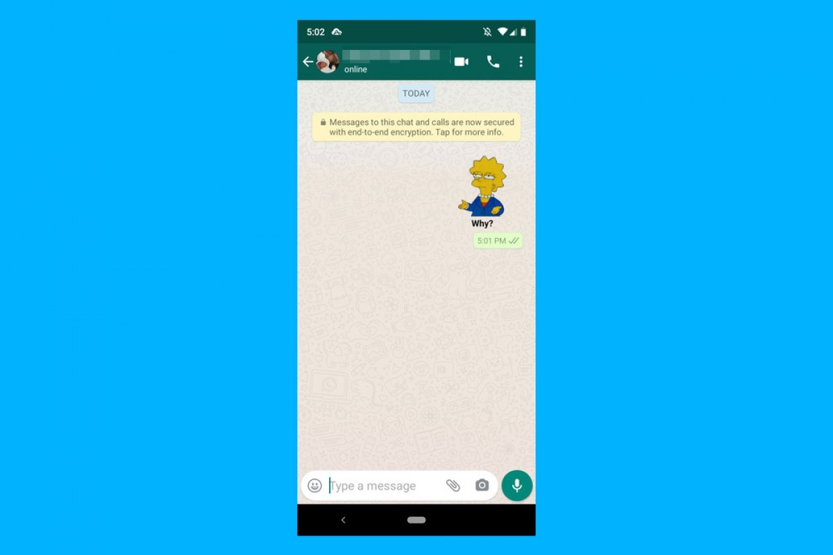 Cómo usar stickers en WhatsApp