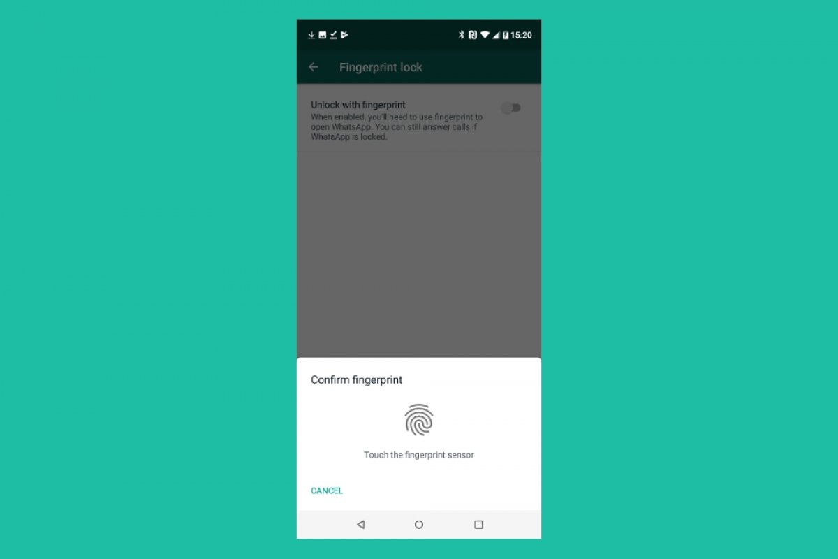 Wie aktiviere ich den Fingerabdruckschutz auf WhatsApp