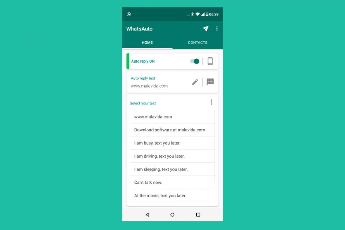 How to enable Auto Reply on WhatsApp