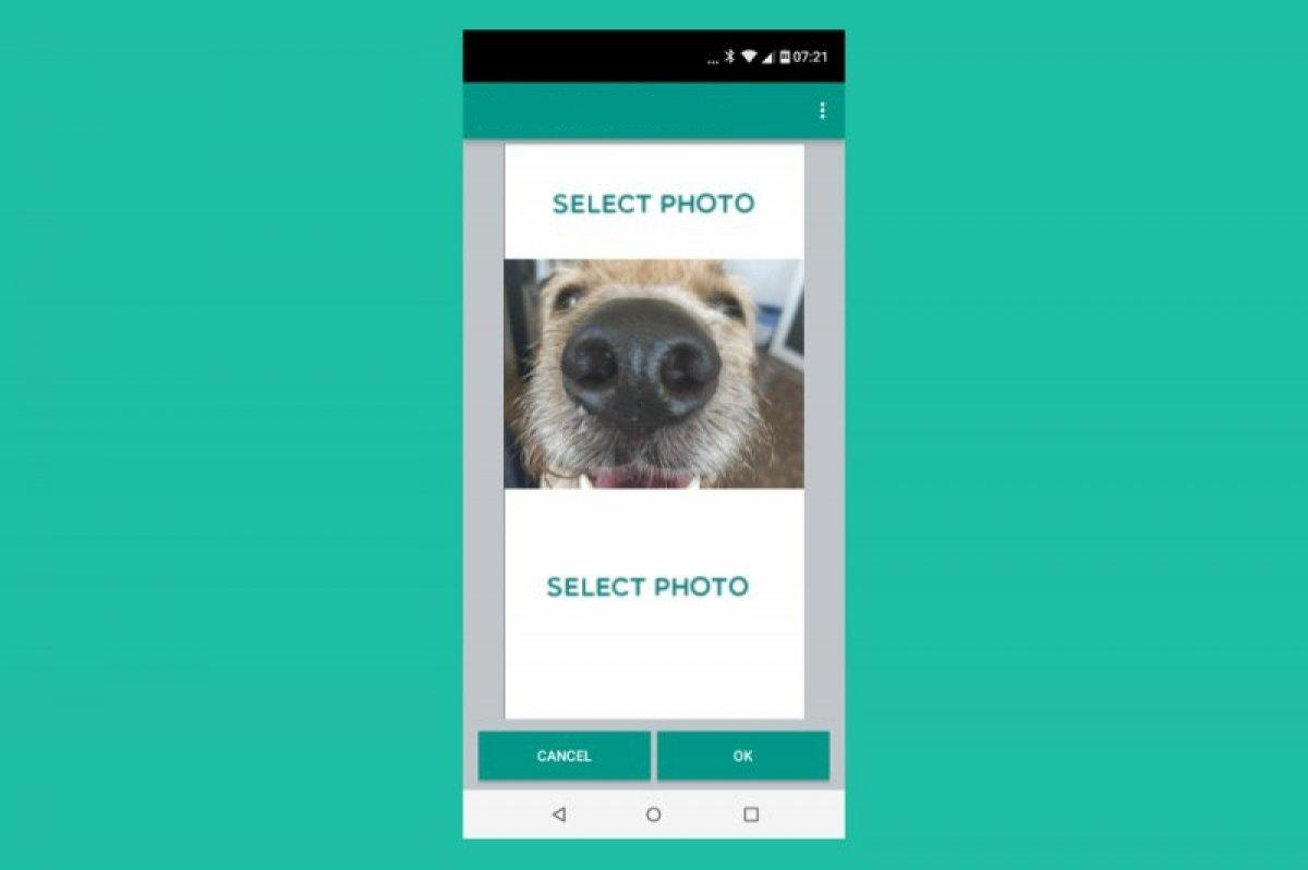 開いた瞬間に変化するWhatsApp画像を送信する方法