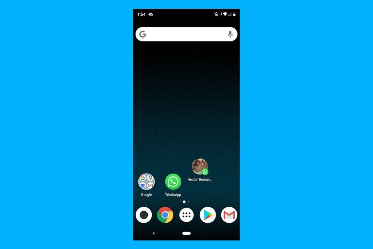 AndroidでWhatsApp連絡先へのショートカットを作成出来る方法