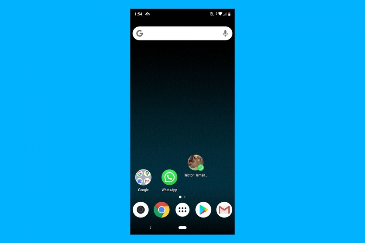 Как создать ярлык контакта WhatsApp на Android