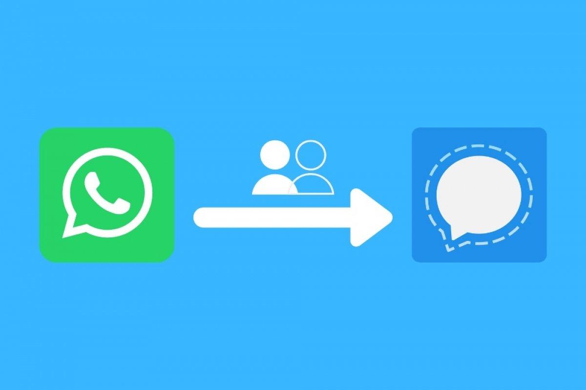 Übertrage deine Gruppen von WhatsApp auf Signal
