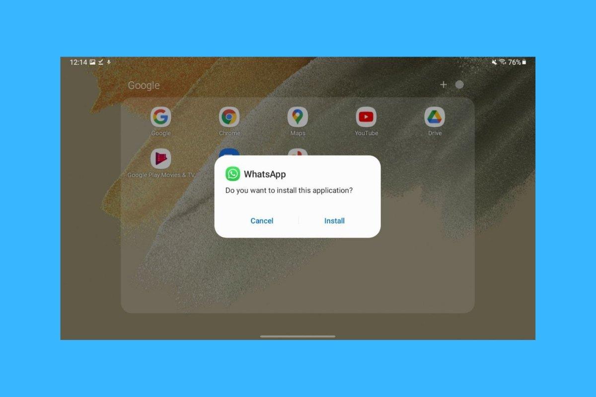 Comment installer et utiliser WhatsApp sur une tablette sous Android ?