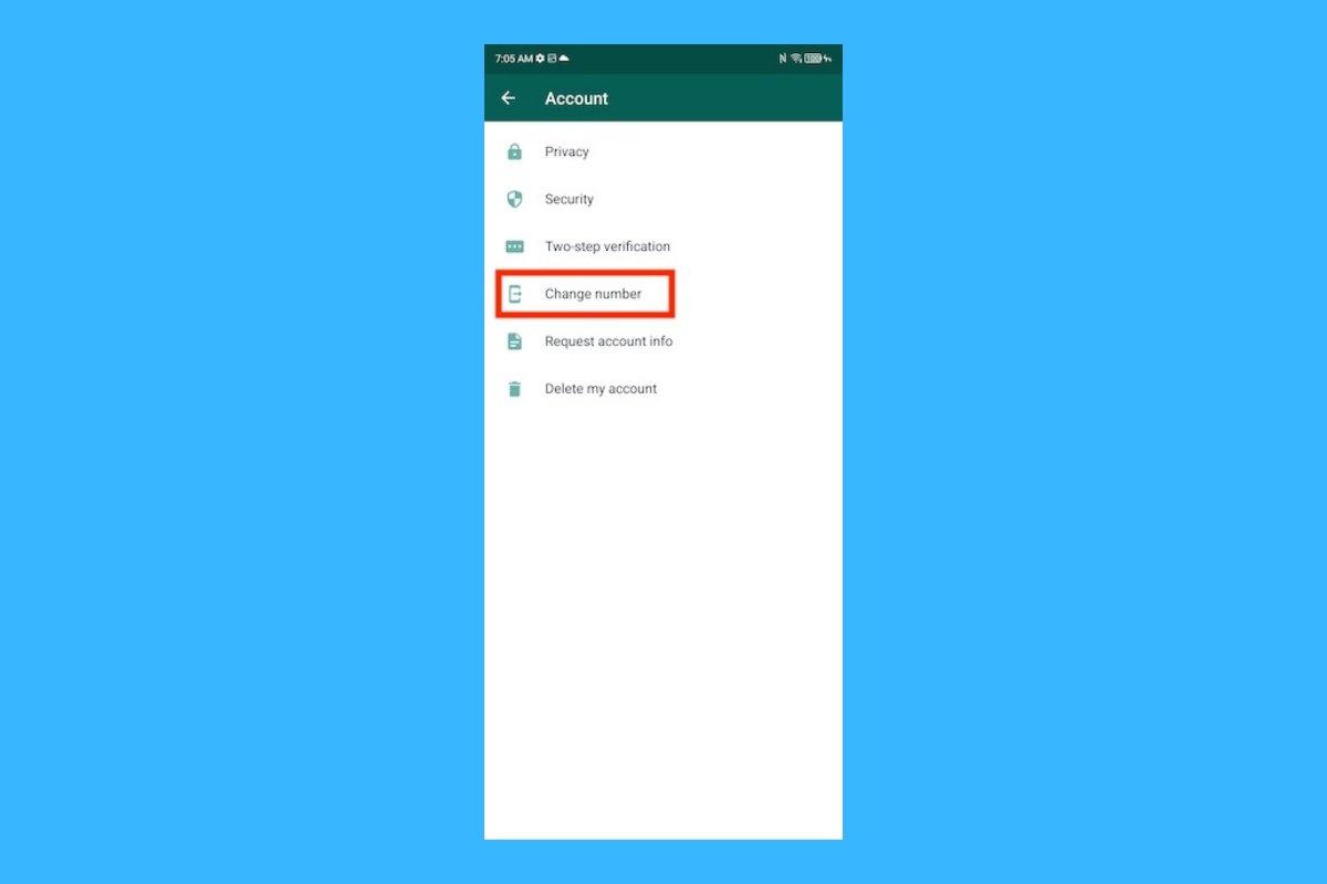 Como mudar seu número de telefone no WhatsApp