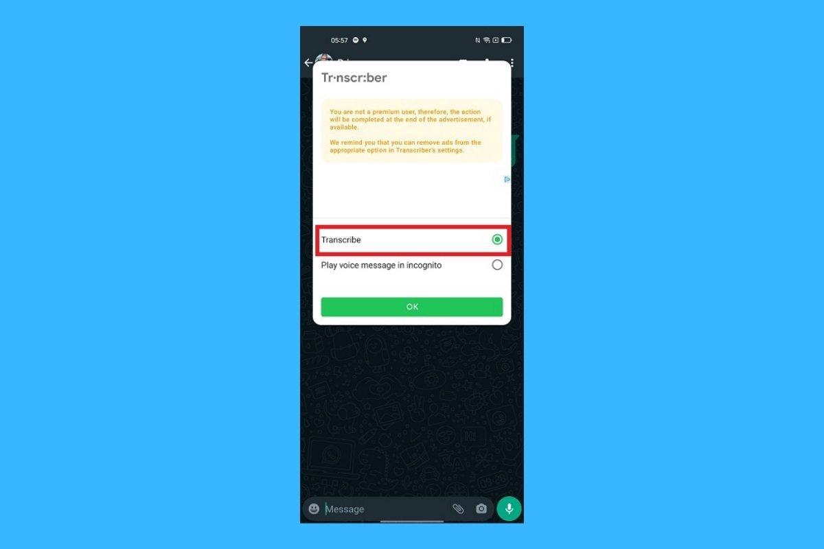 Comment convertir les fichiers audio WhatsApp en textes