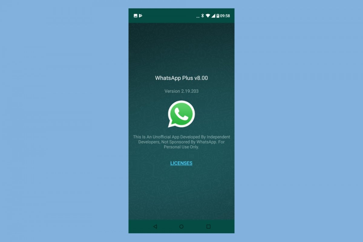 ¿Es WhatsApp Plus legal?