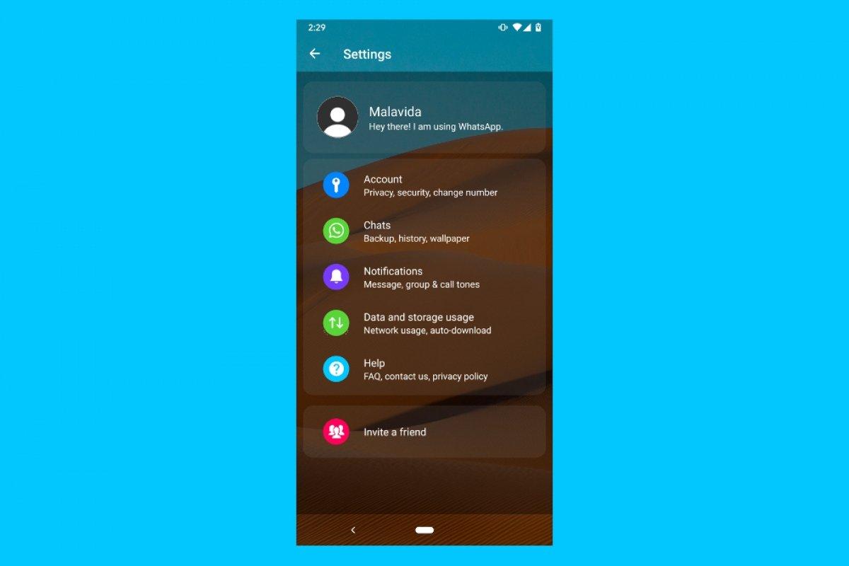 Cómo hacer WhatsApp Transparente