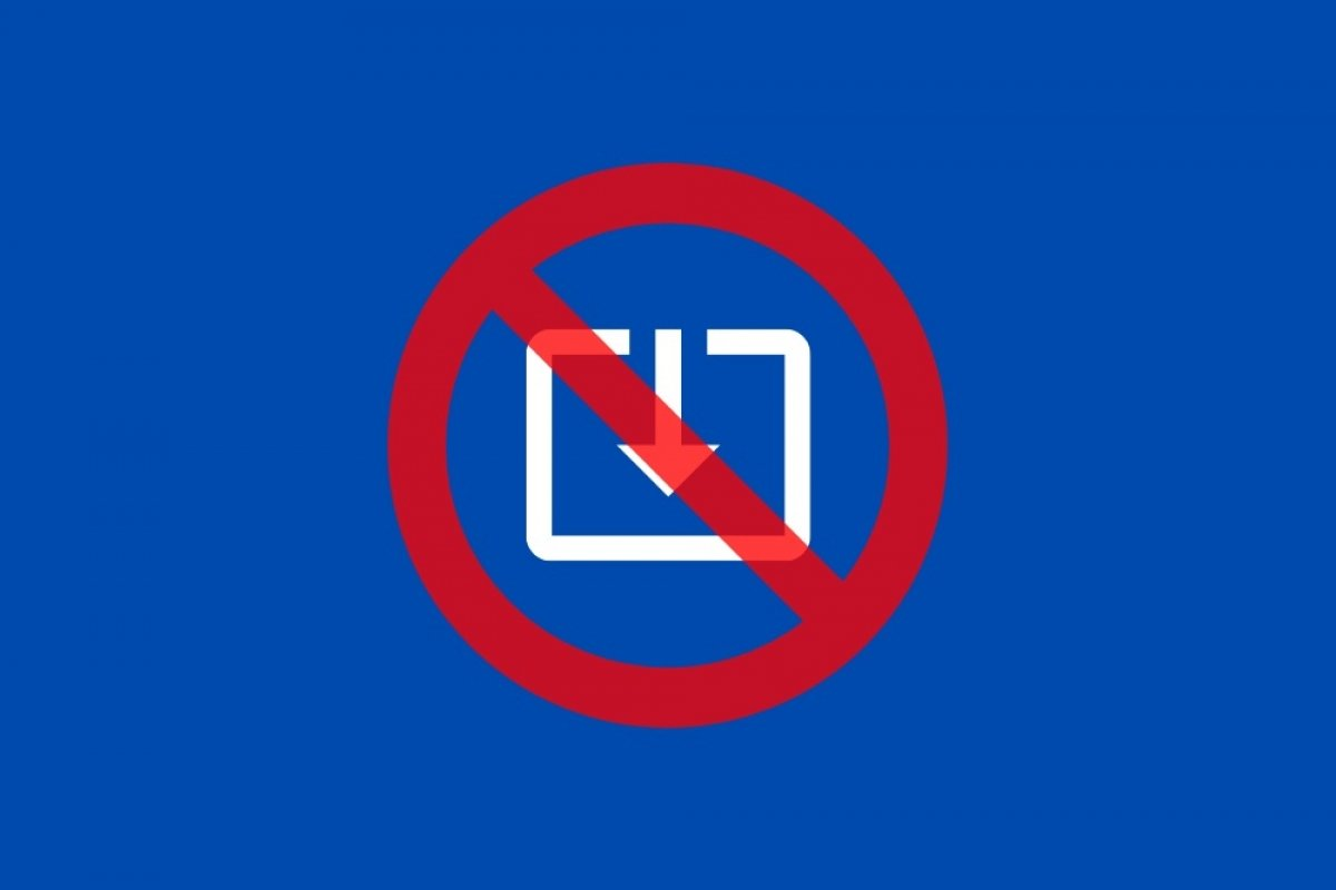 How to prevent the download of files from the Internet in Windows 10