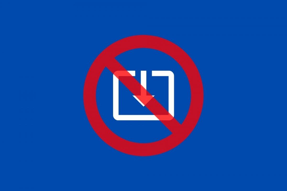 Wie man das Herunterladen von Dateien aus dem Internet in Windows 10 verhindert