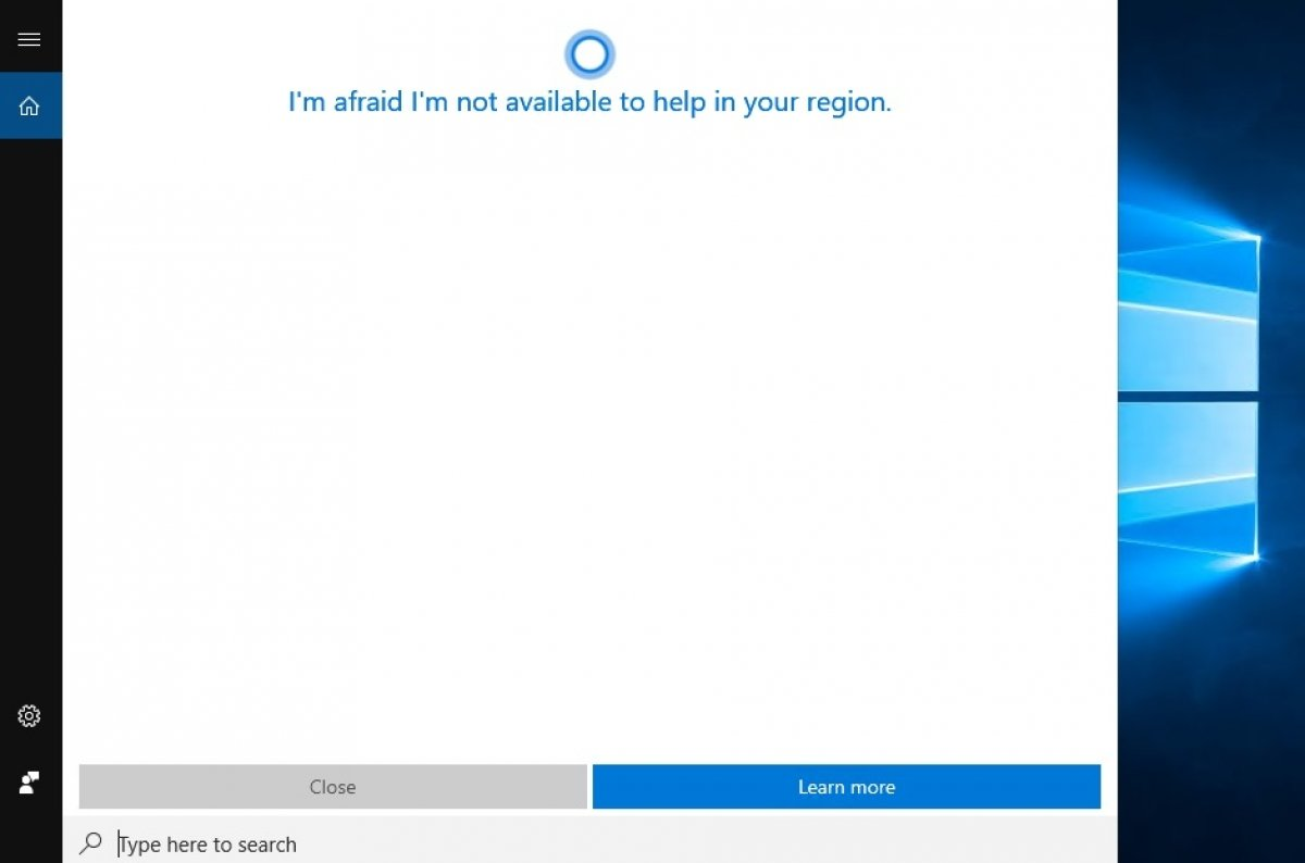 Desactivar Cortana en Windows 10