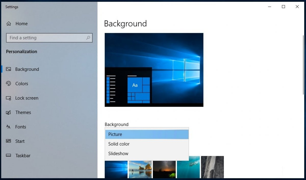 How To Change The Wallpaper On Windows 10