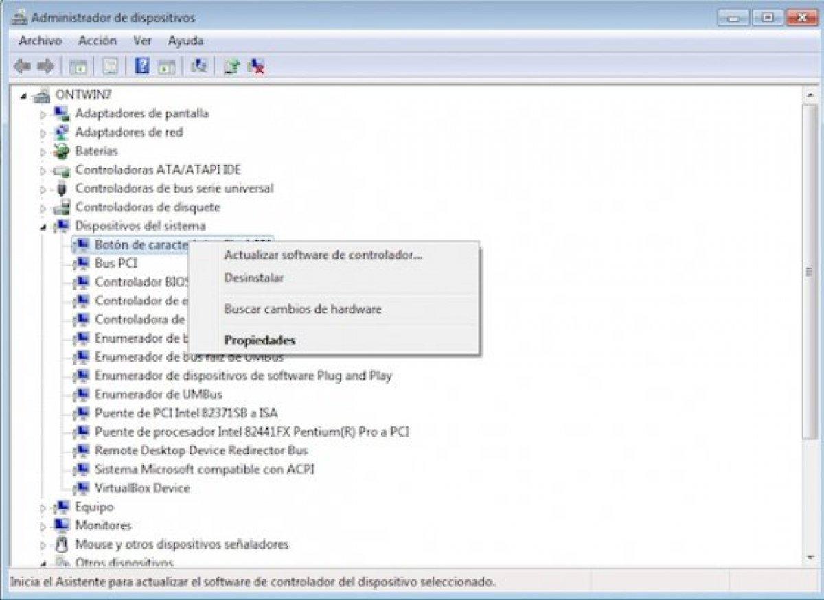 Cómo actualizar los drivers en Windows 7