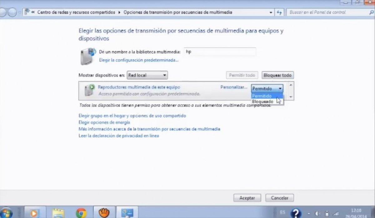 Cómo instalar y configurar un Servidor DLNA en Windows 7