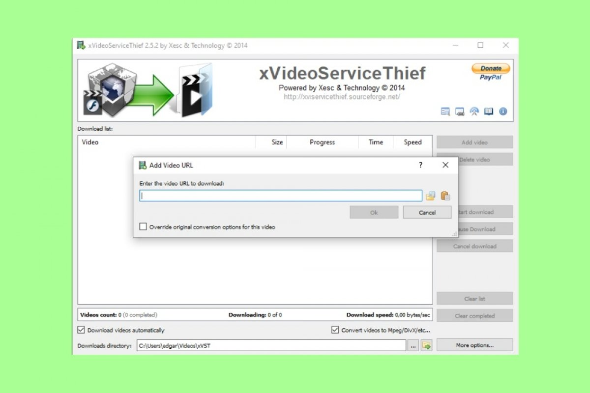 How to use xVideoServiceThief