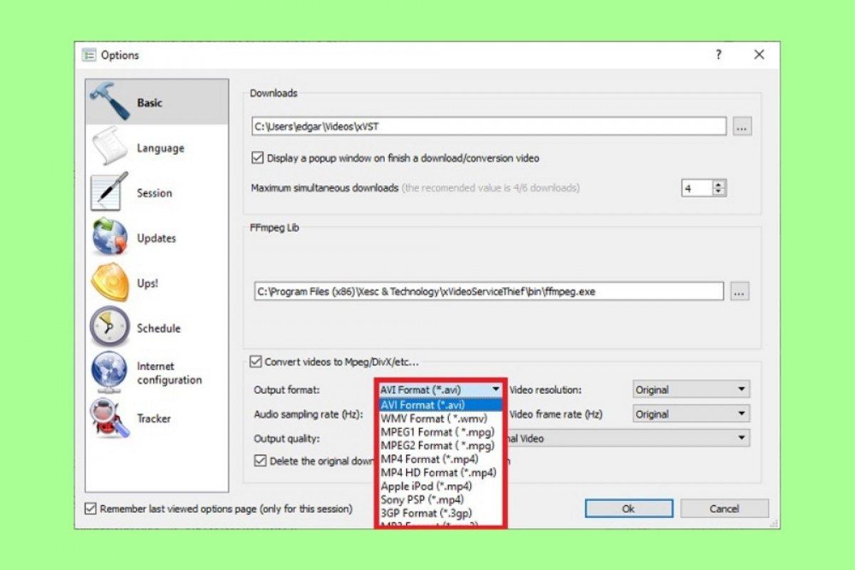 Cómo convertir el formato de vídeo con xVideoServiceThief