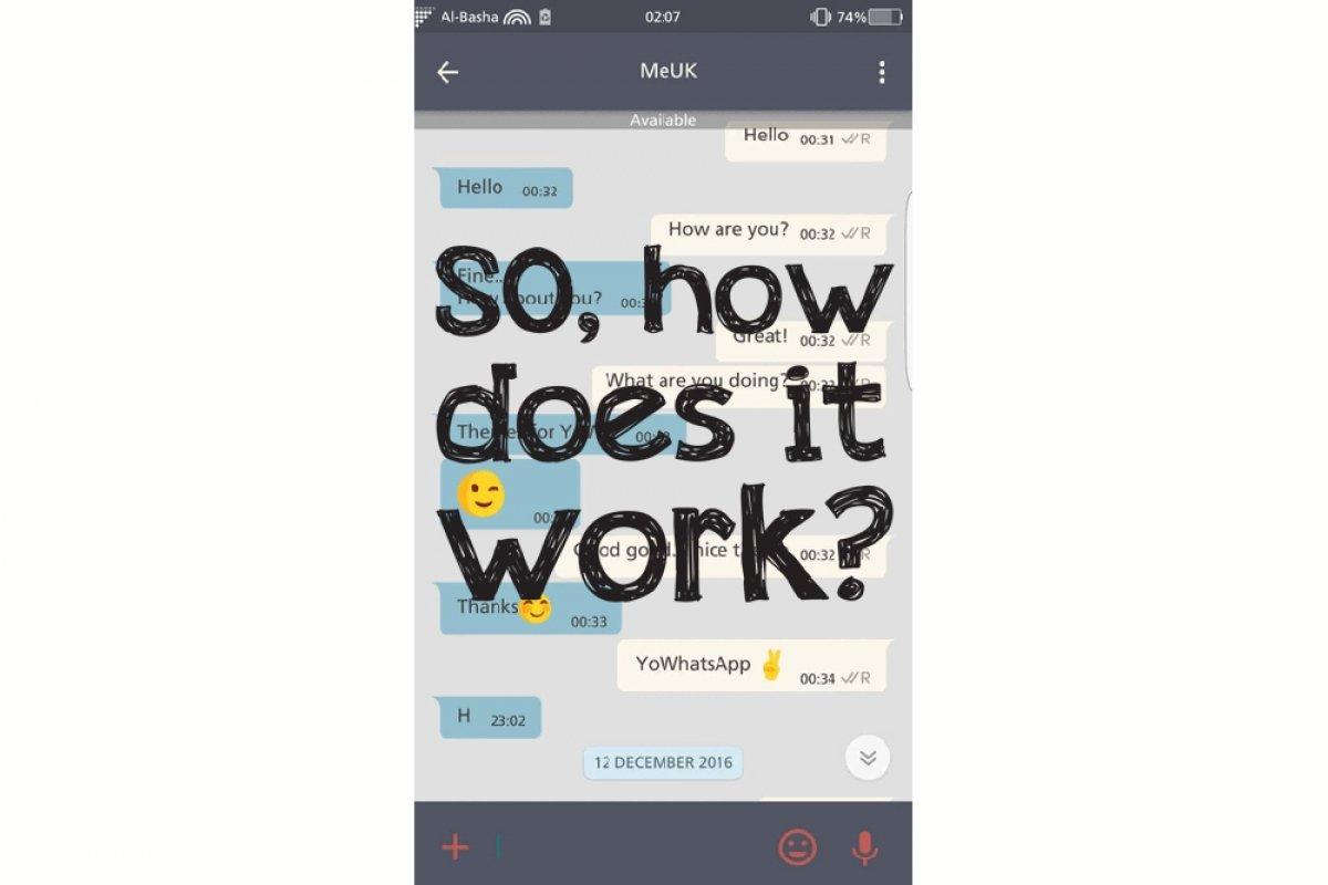 Cómo funciona YOWhatsApp
