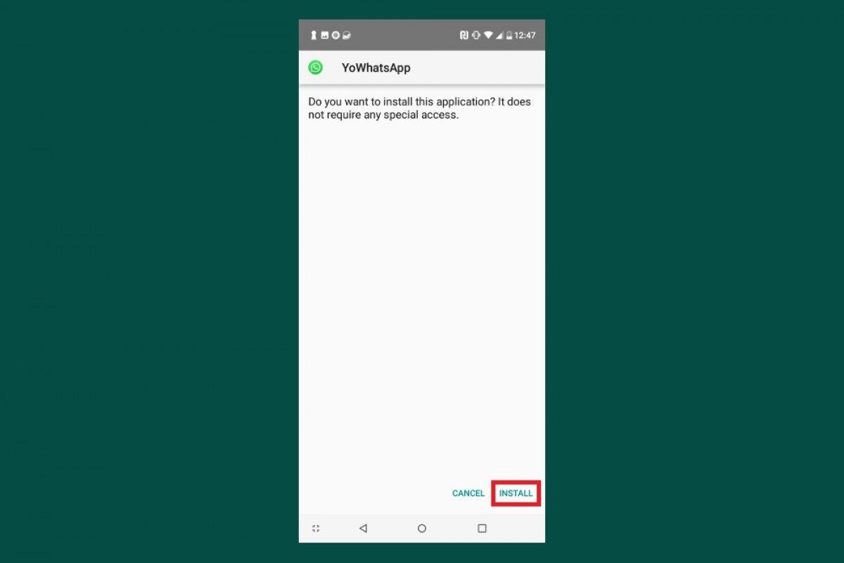 Cómo instalar YOWhatsApp