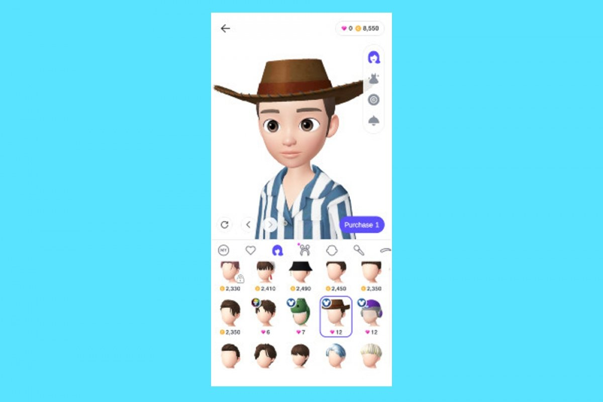 How to customize your avatar in Zepeto