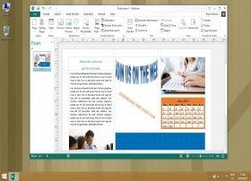 Erstellung von dreiseitigen Broschüren mit Microsoft Publisher
