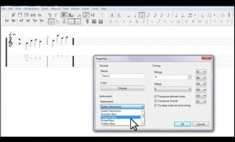 Aprende a utilizar este editor de tablaturas