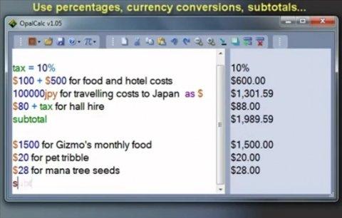 Calculadora multilínea con soporte para lenguaje natural