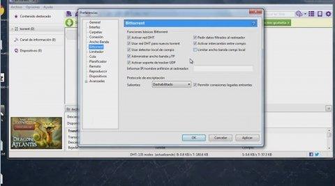 Cómo acelerar BitTorrent