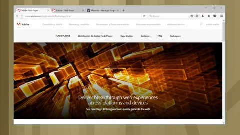 Cómo actualizar Adobe Flash Player en Firefox