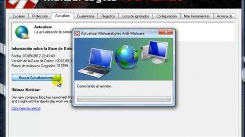 Cómo actualizar Malwarebytes Anti-Malware