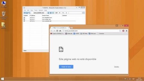 Cómo bloquear el acceso a cualquier web con BlueLife Hosts Editor