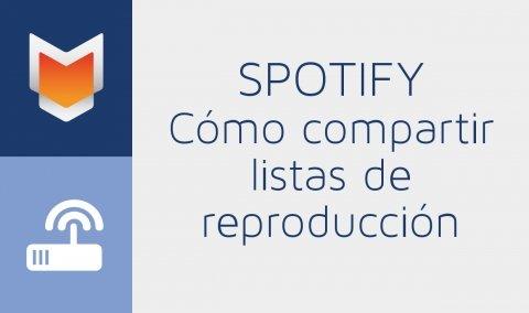 Cómo compartir listas de reproducción en Spotify
