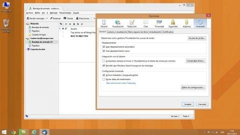 Cómo configurar una cuenta de correo con Thunderbird