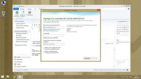 Cómo configurar una cuenta de correo en Windows Live Mail