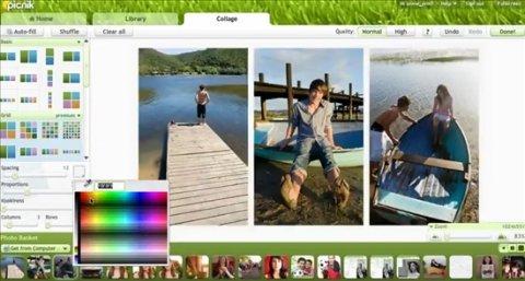 Cómo crear un collage con Picnik