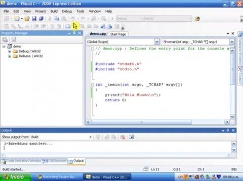 Cómo desarrollar una aplicación con Visual C++