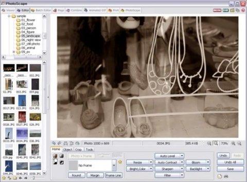 Cómo editar imágenes con Photoscape