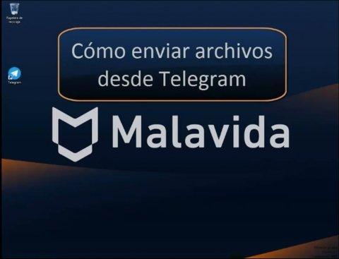 Cómo enviar archivos desde Telegram