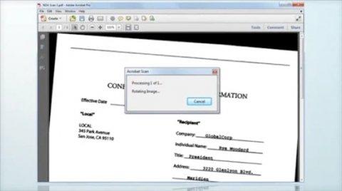 Cómo escanear documentos con Adobe Acrobat