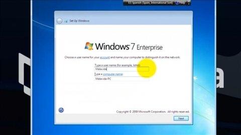 Cómo instalar Windows 7