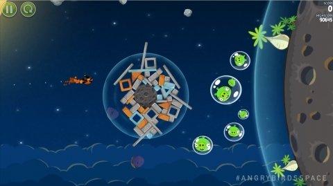 Cómo jugar a Angry Birds Space