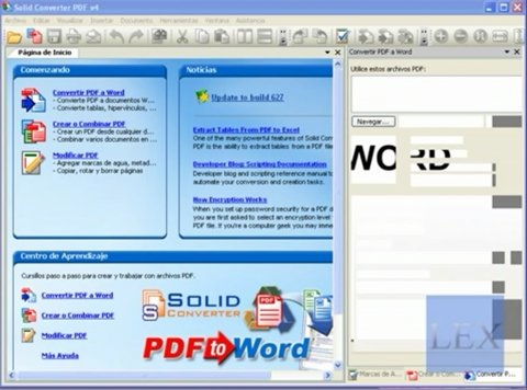 Cómo pasar de PDF a Word con Solid Converter