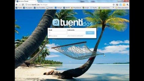 Cómo personalizar la página de acceso de Tuenti