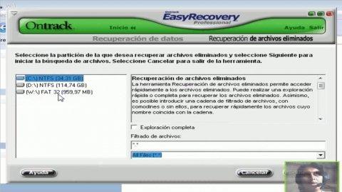 recuperar archivos borrados de una usb
