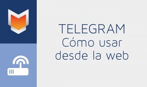 Cómo usar Telegram desde la web